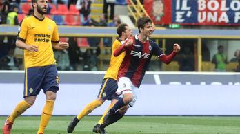 Nagy Ádám megszerezte első gólját az olasz bajnokságban