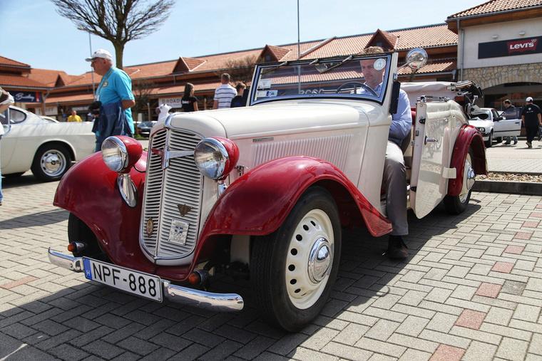 Hihetetlen, szalonállapotú Adler Trumpf Junior cabriolet a '30-as évek derekáról