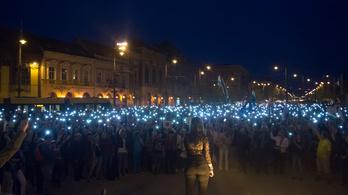 Debrecenben is sokan tüntettek a kormány ellen
