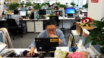 Kínában mindent leradíroznak a netről, ami kicsit is meleg