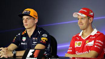 Vettel értékelte, hogy Verstappen férfiként viselkedett