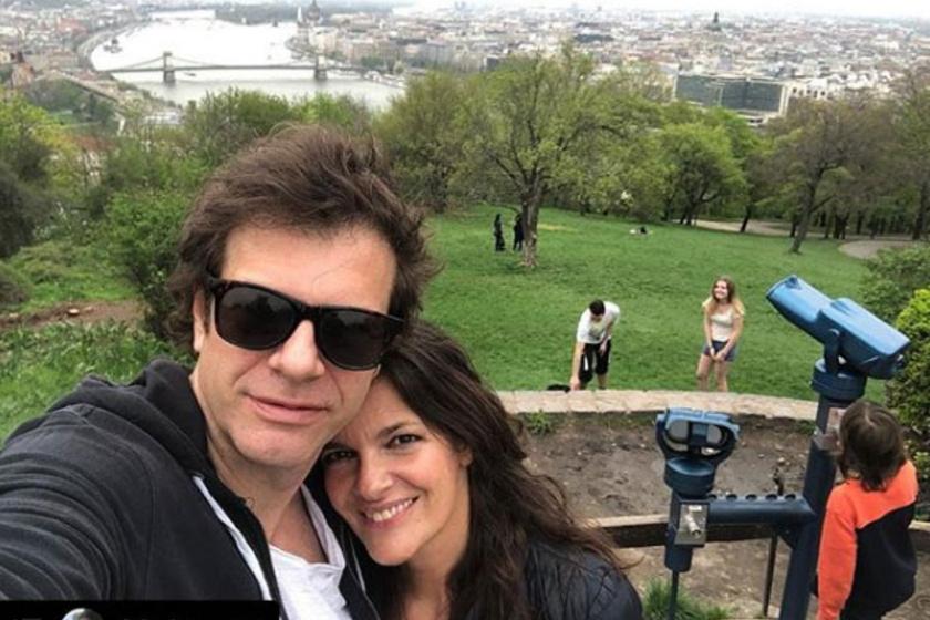 Till Attila és felesége, Krisztina 21 év után is szeretik egymást - itt kettesben kirándultak éppen.