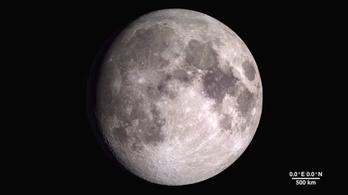 Lehet, hogy nem látta még ilyen szép felbontásban a Holdat