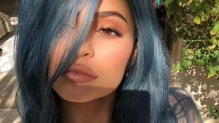 Kylie Jenner őrült elfoglalt: kétszer is megváltoztatta a hajszínét a hétvégén