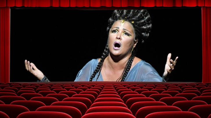 Anna Nyetrebkót Aida szerepében látjuk a Met színpadán