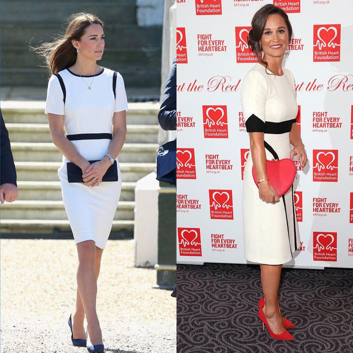 Katalin hercegné és testvére, Pippa Middleton stílusa kísértetiesen hasonlít egymásra.