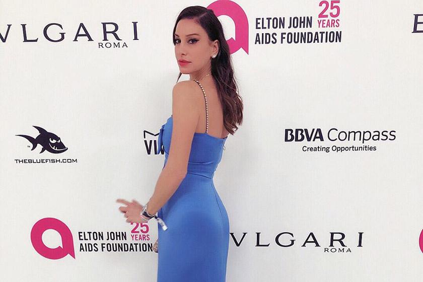 Vajna Timi Gucci-estélyit viselt az Oscar-gálán - Andy Vajna is elkísérte