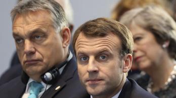 Macron: Egyetlen, Orbán Viktor által vallott értéket sem tartok a magaménak