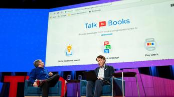 Itt a Google új keresője, és mindenre megtalálja a választ a könyvtárban