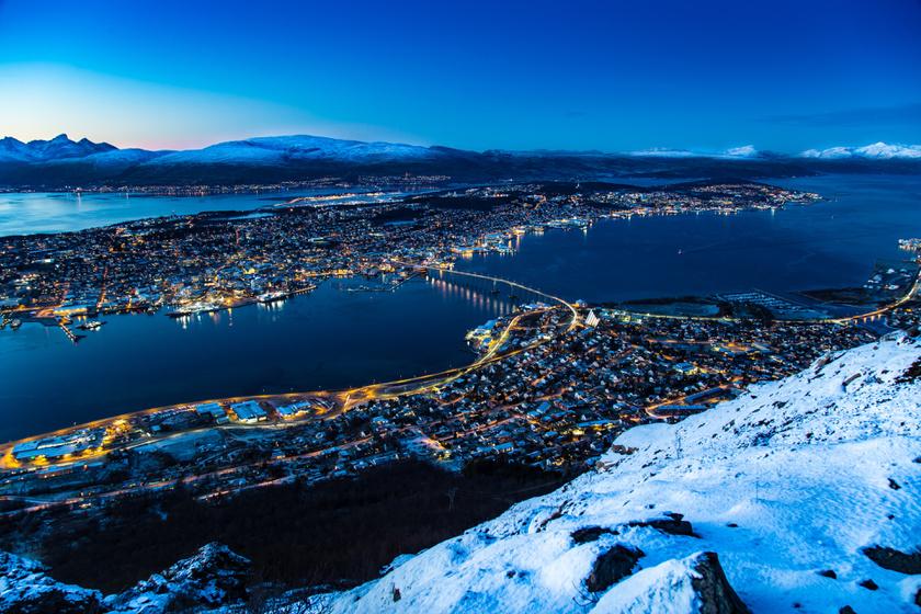 Így néz ki egy jégétterem: Norvégia egyik legszebb helyét mutatjuk