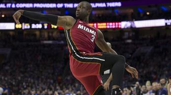 Wade időgépet hozott az NBA-be