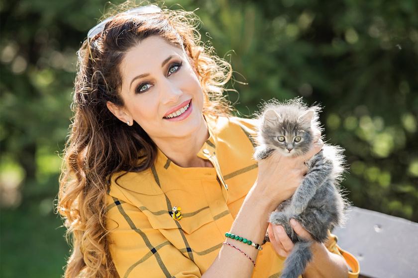 Horváth Éva iszonyú cuki cicával fotózkodott - Elárulta, miért (x)