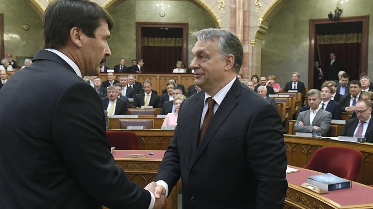 Áder János felkérte Orbán Viktort a kormányalakításra