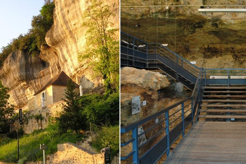 A Pataud-búvóhely 1990 óta kiépített turistalátványosság.