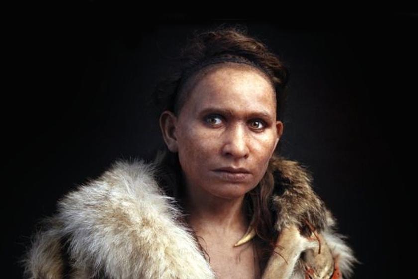 Így nézhetett ki a 17 ezer éve élt, fiatal nő.