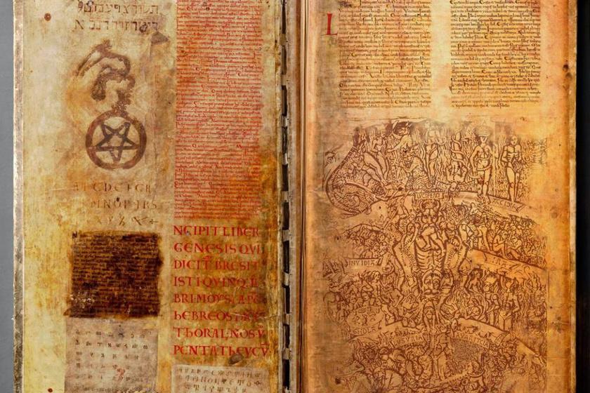 A titokzatos kéziratra a svédek hadizsákmányként tettek szert a harmincéves háború idején, és azóta is a stockholmi Svéd Nemzeti Könyvtárban őrzik.