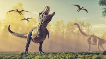 Egy globális katasztrófa miatt győztek a Földön a dinók