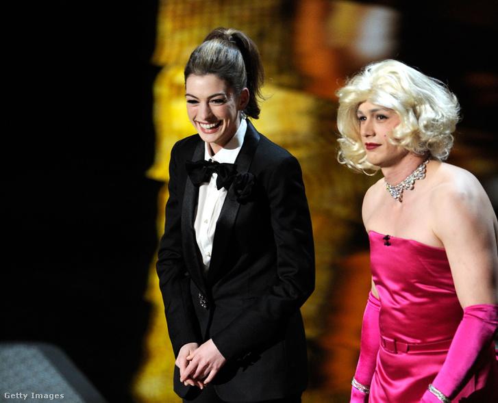 Anne Hathaway és James Franco a 83. Oscar-gálán