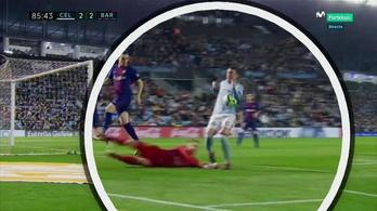 S. Roberto és egy nagy kezezős gól majdnem megállította a Barcát