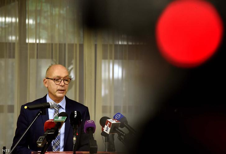Péterfalvi Attila a Nemzeti Adatvédelmi és Információszabadság Hatóság (NAIH) elnöke