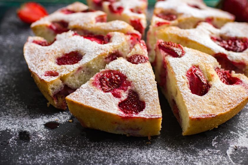Kefires, epres kevert süti: olyan puha és könnyű, mint a piskóta
