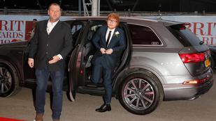 Ed Sheeran testőre jobb fej, mint Ed Sheeran