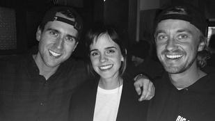 A Harry Potter három szereplője újra találkozott