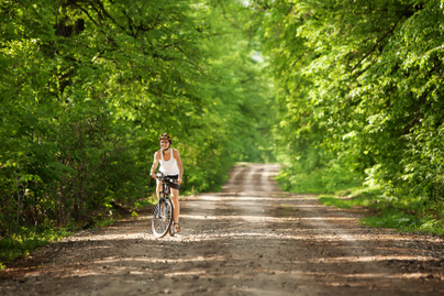 erdei biciklizes