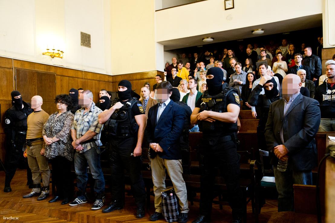 Jozef Rohac, Portik Tamás és a többi vádlott az Aranykéz utcai robbantás, valamint a Fenyő- és a Cinóber-gyilkosság összevont büntetőperének ítélethirdetésén