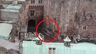 Lovagszellem vagy szellemlovag repült át a XI. századi kastély felett?