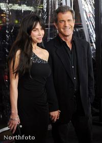 Mel Gibson és Okszana Grigorjeva kapcsolata egy évig tartott