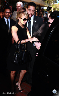 Nicole Richie 2007-ben bíróságra érkezik