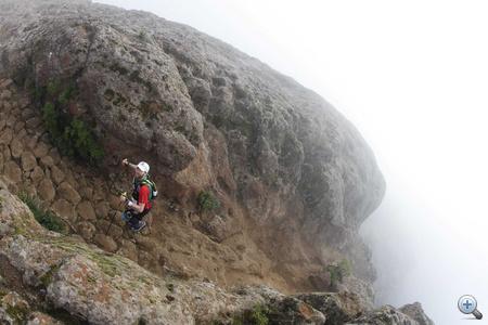 Lőrincz Olivér 1800 méteres magasságban
