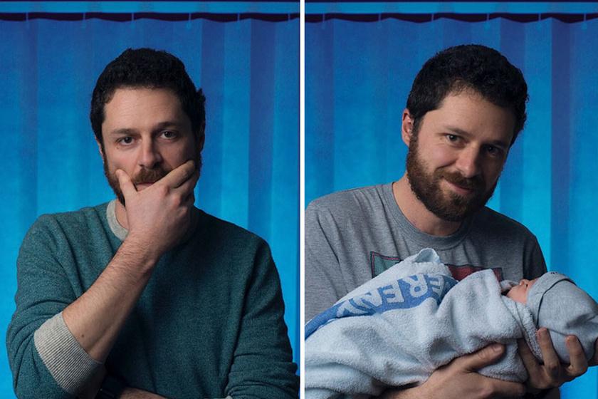 Apaság előtt és után: így változott a férfiak arca, mire megszületett a gyermekük