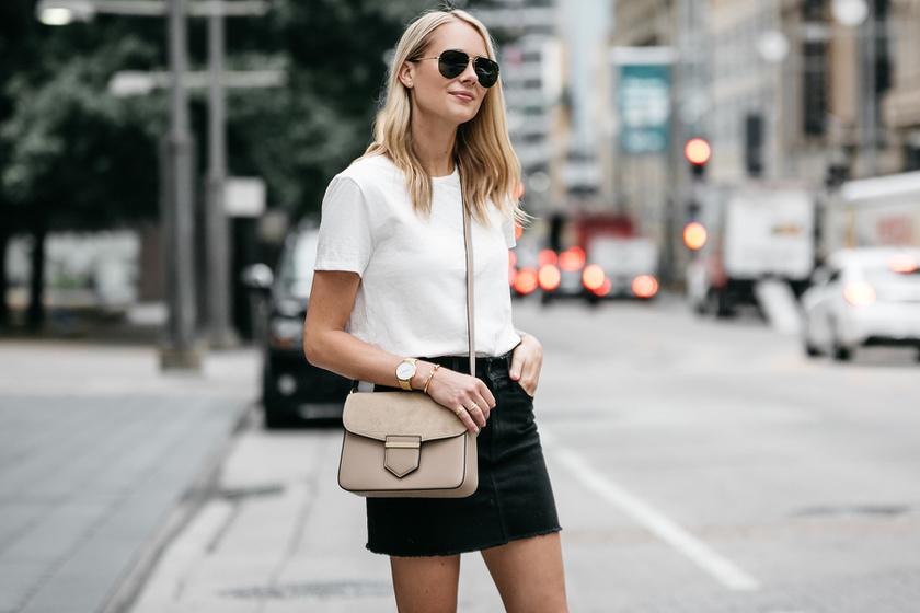 Így viseld a fehér pólót tízféleképpen, hogy ne legyen unalmas - Nőies, csinos párosításokat mutatunk