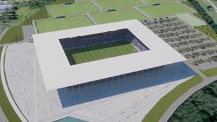 10 milliárdból épül Mészáros horvát csapatának stadionja