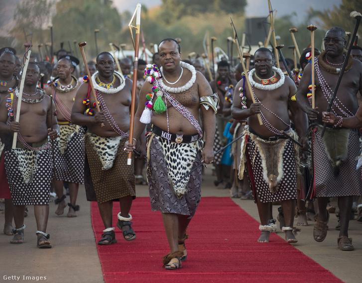III. Mswati király