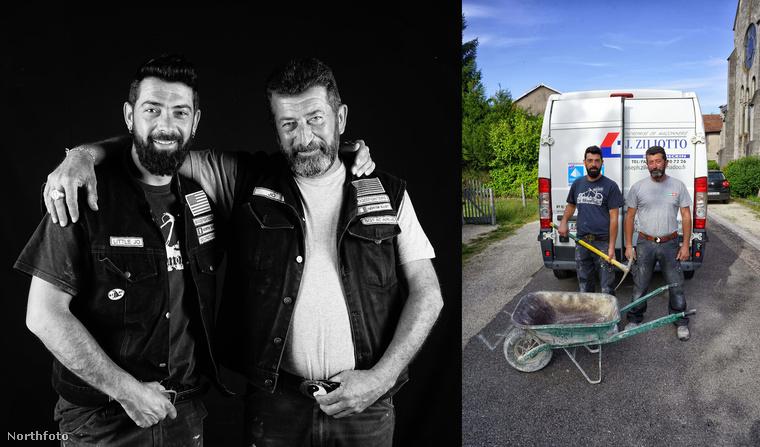 A képeket készítő Pankotay egyébként maga is motorozik, így pedig különösen fontos volt számára ez a projekt