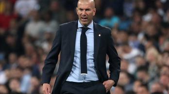 Zidane: Az utolsó leheletünkig védeni fogjuk a BL-trófeát