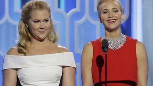 Jennifer Lawrence és Amy Schumer legutolsó sms-váltása igazán káprázatosra sikeredett