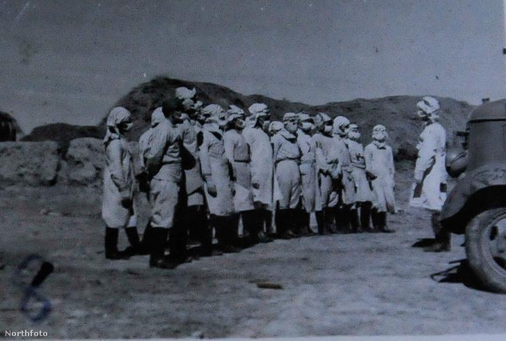 A 731-es egység tagjai 1940 körül