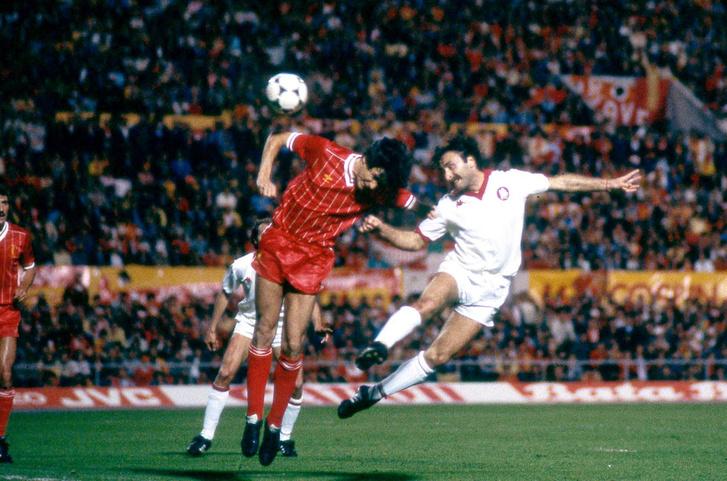 Coppa dei Campioni 1984, Liverpool-Roma, Roberto Pruzzo