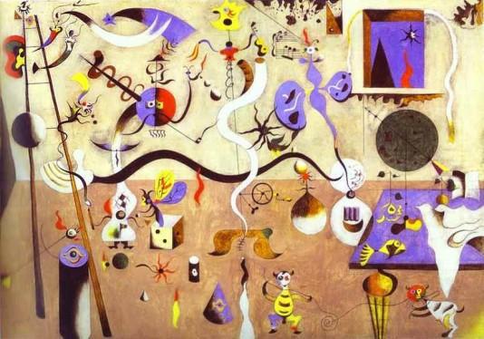 Joan Miro: A harlequin karneválja - 1924-25
