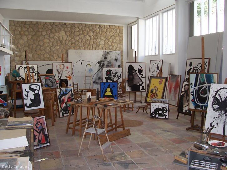 Joan Miró stúdiója Palma Mallorcán