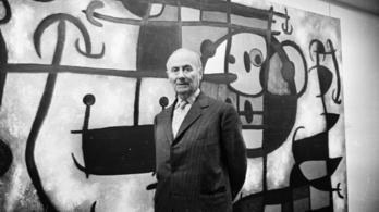 Joan Miró katalán festő 125 éve született