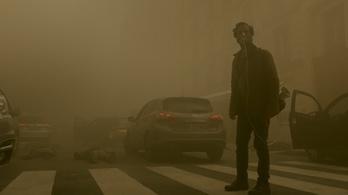 A franciáknál a mérgező füstköd jelenti az apokalipszist