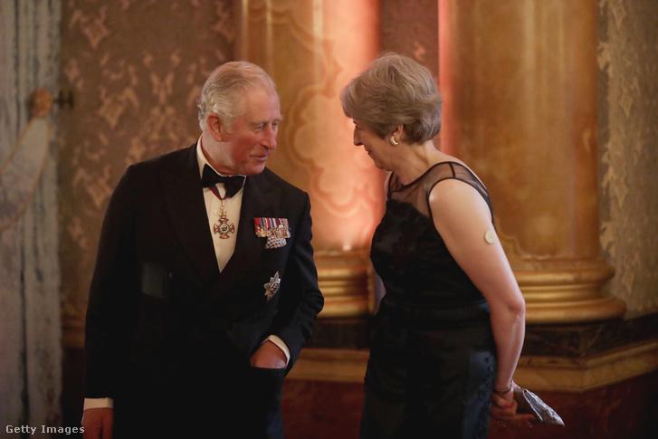 Károly herceg és Theresa May