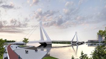 Bemutatták, milyen lehet az új budapesti híd