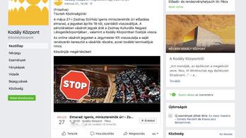 Meghökkentő képpel frissült az elmaradt Alföldi-előadás Facebook-eseménye