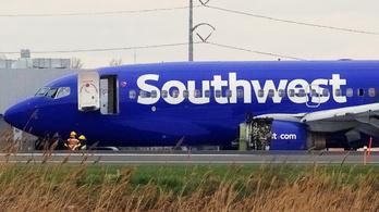 Elrendelték a repülők hajtóművének ellenőrzését a Southwest Airlines tragédiája után